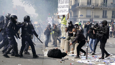 May Day Protests Take Place In Paris