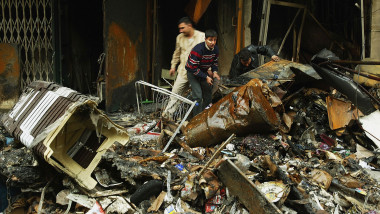 Iraqi Shopkeepers Recover from Shorja Market Bombing