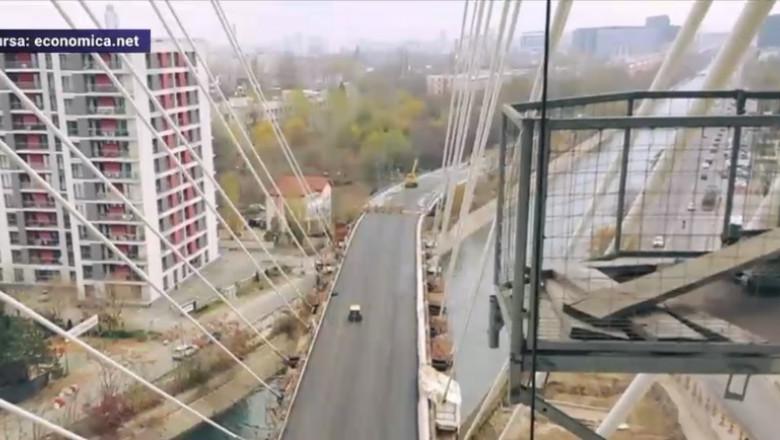 VIDEO Incendiu langa Podul Ciurel: Nu exista victime ...  |Podul Ciurel
