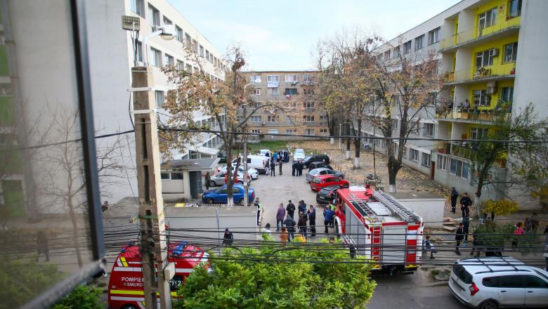 trei decese într-un bloc din Timișoara