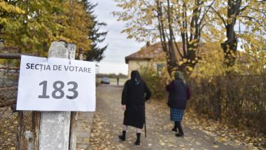 Primul tur al alegerilor prezidentiale 2019, la o sectie de vota