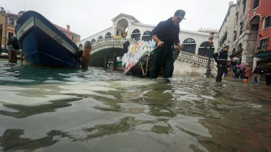 Flooding in Venice