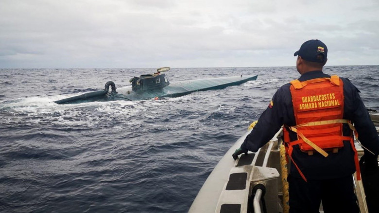 Colombian Navy seizes eight tons of cocaine in the Pacific Ocean