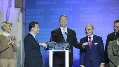 BUCURESTI - ALEGERI PREZIDENTIALE 2019 - EXIT POLL - PSD - KLAUS