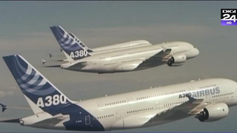 avioane airbus zbor