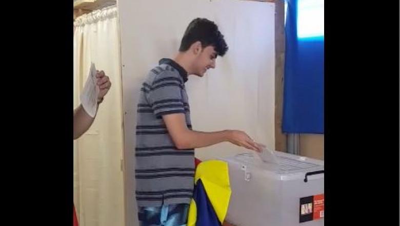george-primul-votant-prezidentiale-turul-2