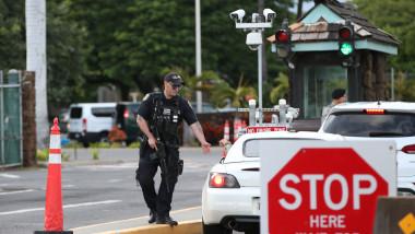 Three People Shot At Pearl Harbor Naval Shipyard Leaves In Hawaii