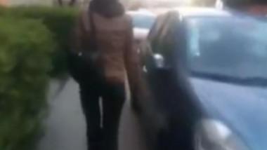 femeie cluj masini zgariate foto stirideclujro