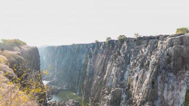 cascada Victoria secată