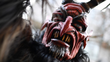 Krampus Creatures Parade In Munich