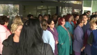 protest spital timisoara