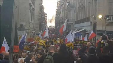 proteste malta