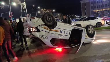 accident masina politie 011219