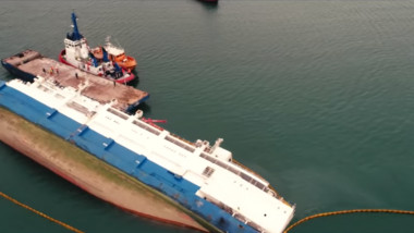 nava scufundata portul midia oi