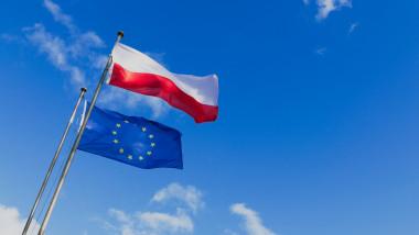 steaguri uniunea europeana si polonia