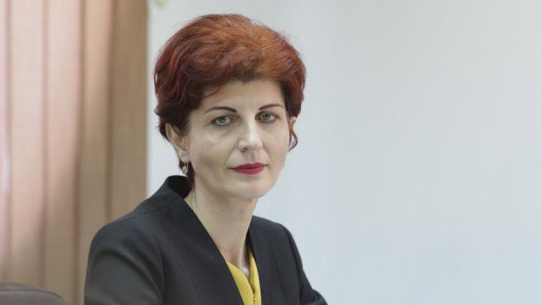 Nicoleta Țînț, președinta CSM