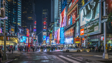 Times Square new York intersectie
