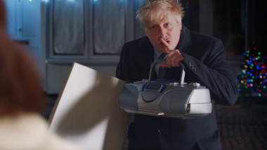 boris johnson love actually