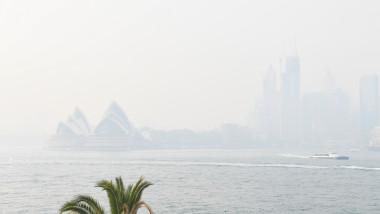 Smoke Haze Over Sydney As Fire Danger Risk Heightens