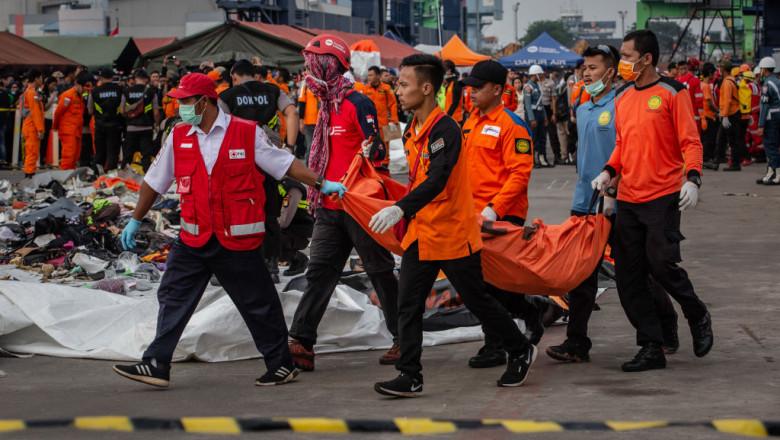 Relatives Of Lion Air Crash Victims Await News At Hospital