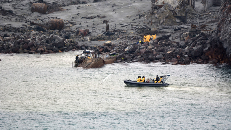 Authorities Attempt To Recover Bodies Of Volcano Victims