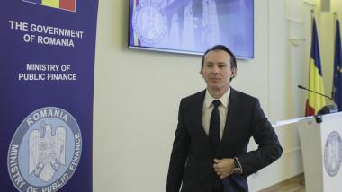 ministrul Finanțelor Florin Citu