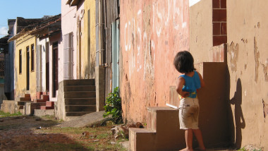 Cuban Child in Poverty