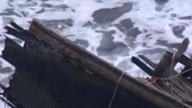 ambarcatiune naufragiata in japonia