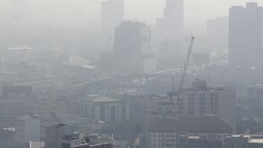 Air pollution affects Bangkok