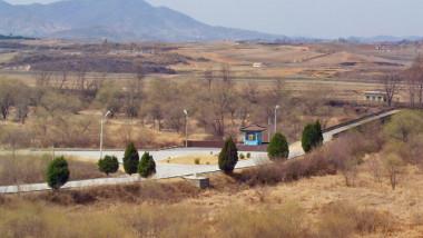 North, South Korea DMZ Bridge of No Return