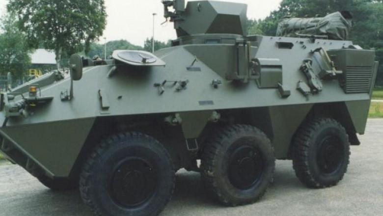 pandur - belgian defence