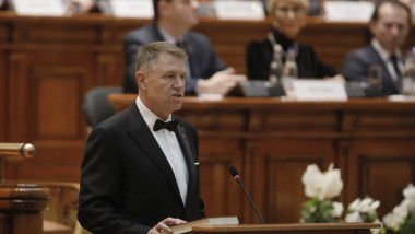 iohannis juramant parlament inquam george calin