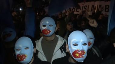 proteste uiguri