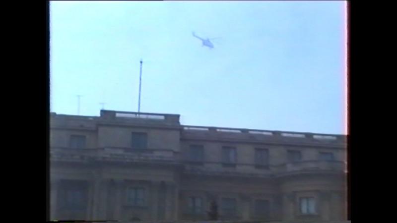 elicopterul care pleaca cu ceausestii