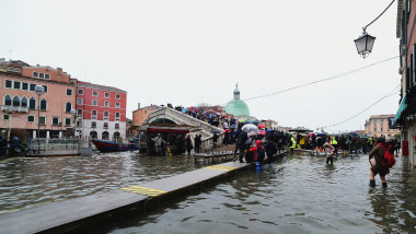 Flooded Venice Faces Another Tidal Surge