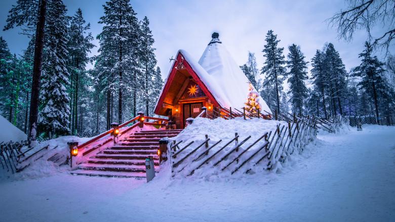 Rovaniemi, casa lui Mos Craciun
