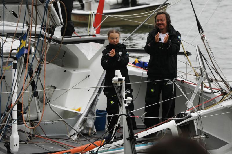Greta Thunberg și tatăl ei