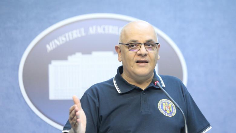 Raed Arafat, sef departament situatii urgenta