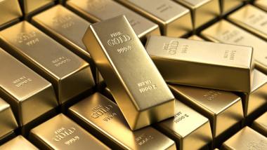 Cotaţia aurului pe bursele internaţionale a scăzut brusc în ultima perioadă