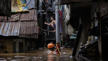 Massive Floods Hit Indonesia's Capital City