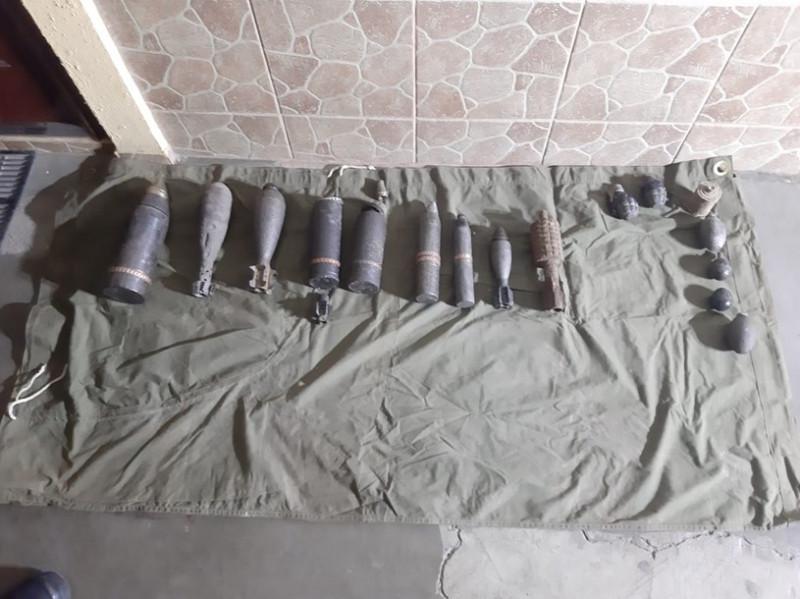 munitie oradea depozit ilegal - isu crisana