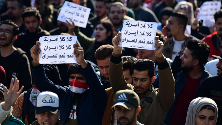 Protest in Baghdad