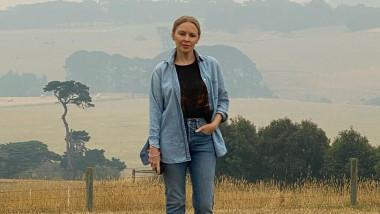 Kylie Minogue, in Australia