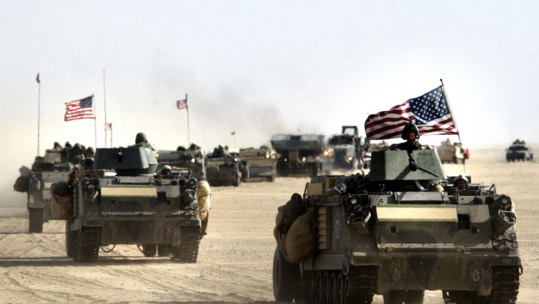 U.S. And British Forces Prepare For Possible War Against Iraq