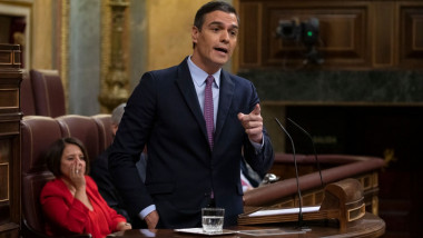 Spanish Parliament Holds Pedro Sanchez Investiture Debate