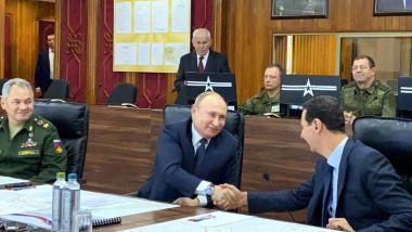 putin cu bashar al assad - kremlin ru