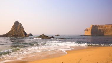 Martin's Beach near Half Moon Bay, California-USA