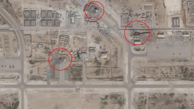 Imagini Din Satelit Arată Pagubele Produse Intr O Bază Aeriană Din