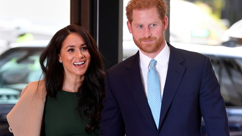 Meghan markle printul harry The Duke And Duchess Of Sussex Attend WellChild Awards