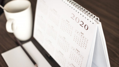 Desktop calendar 2020